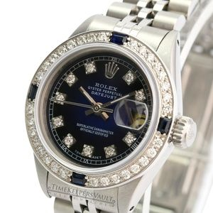 Rolex Lady Datejust 69174 Diamond Dial/Bezel 26mm